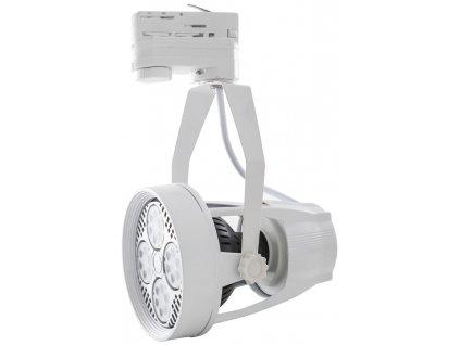 12W,1000lm,100mm,12W COB,Bílé 3-Fázové lištové svítidlo E27 12W teplá bílá