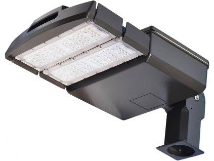 100W,10500lm,281x609x86mm,100/LED,Černé LED veřejné svítidlo 100W VO denní bílá
