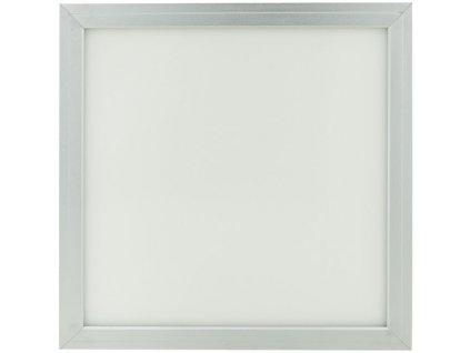 Stmívatelný Stříbrný podhledový LED panel 300 x 300mm 18W denní bílá