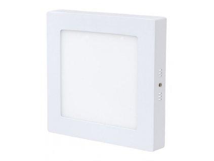 Stmívatelný Bílý přisazený LED panel 175 x 175mm 12W teplá bílá