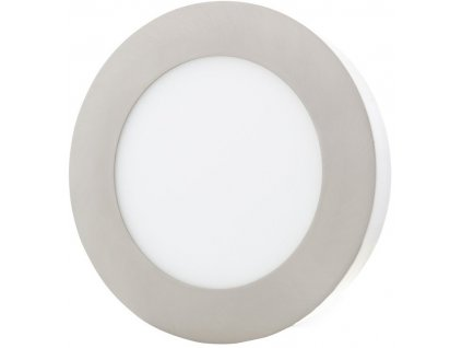Stmívatelný Chromový kruhový přisazený LED panel 175mm 12W denní bílá
