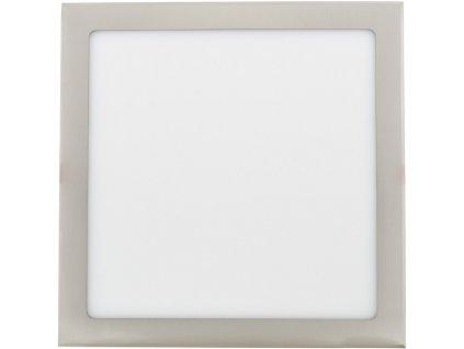 Stmívatelný Chromový vestavný LED panel 300 x 300mm 25W denní bílá