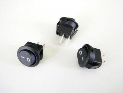 Vypínač kolébkový 250V/1A - Vypínač kolébkový 250V/1A