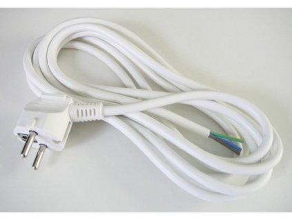Flexo šnůra 3 metry 3x1 mm2 - Bílá
