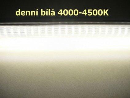 LED trubice 120cm/140lm čirý kryt - Denní bílá