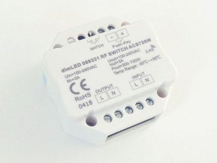 Spínač dimLED RF ACS720W - dimLED RF spínač ACS720W