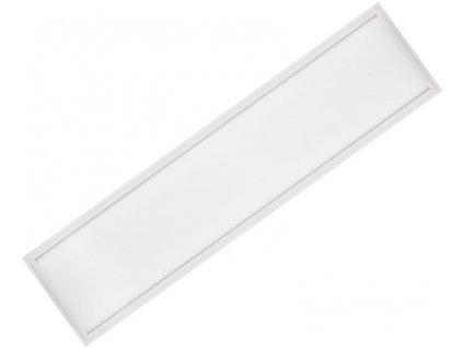 Stmívatelný Bílý podhledový LED panel 300x1200mm 48W studená bílá(0-10V)