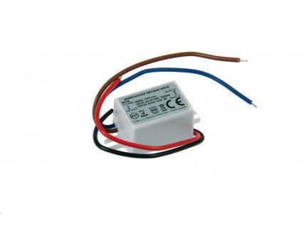 LED zdroj 12V 6W IP67 - LED zdroj 12V 6W IP67