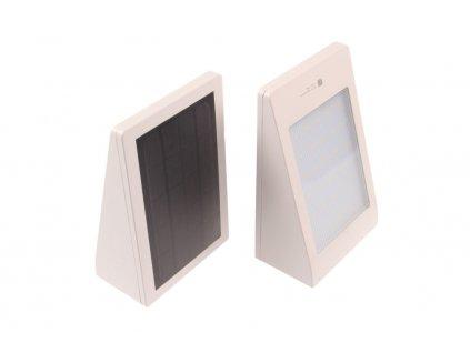 LED solární svítidlo MURO bílé - Denní bílá