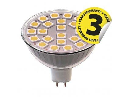 LED žárovka Classic MR16 4W GU5,3 teplá bílá
