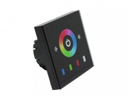 LED dotykový panel RGB 8E černý - RGB 8E černý dotykový panel