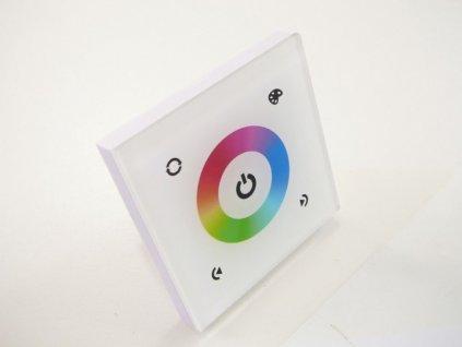 LED dotykový panel RGB 9E - Bílý