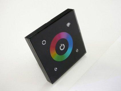 LED dotykový panel RGB 9E - Černý