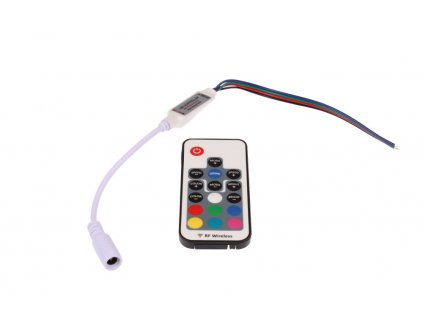 LED ovladač RF RGB 17B - RGB LED ovladač 17B
