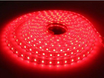 SIKOV LED pásek Červený 230V 5050 60led/m IP67
