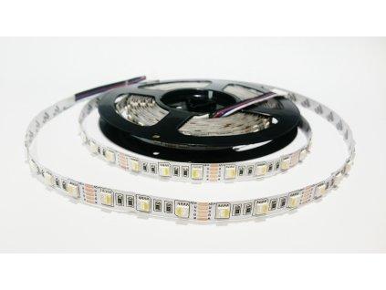 SIKOV LED pásek RGBDW čip 4V1 60led/m IP20 Záruka tři roky