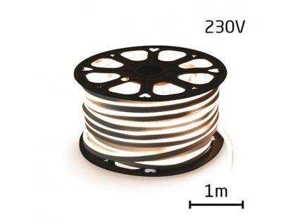 LED neon ECONOMY denní bílá 12W/m, 8x16,4mm, 230V LV-1853