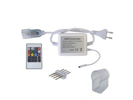 RGB ovládání set pro LED neon ECONOMY RGB 14,4W/m 14x24mm