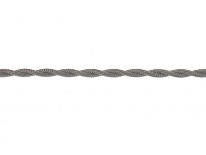 Splétaný kabel - Barva šedá