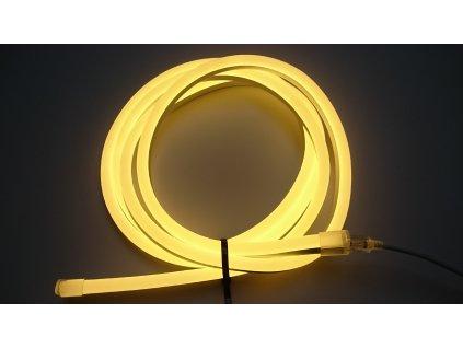 Výprodej 198cm - LED neon PROFI vystouplý 15x25mm, 24V SIKOV lighting