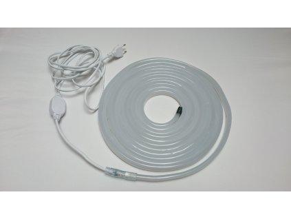 Výprodej 7m - LED neon ECONOMY denní bílá 7W/m, 8x16,4mm, 230V
