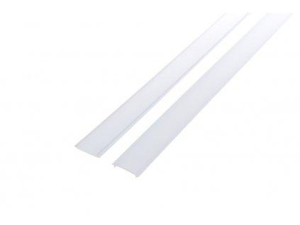 Difuzor ALU profilu D4 nacvakávací - Opálový kryt 2m