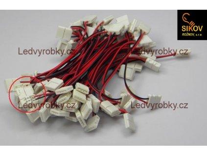 Mechanická propojka LED pásků 5050 - pouzdro
