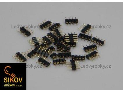 Spojovací hřebínek spojek LED pásků - RGB 5050 a 5050