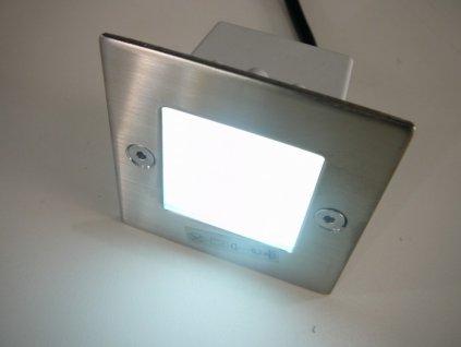 LED vestavné svítidlo TAXI SMD L C/M čtverec - Denní bílá