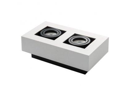 Přisazené svítidlo STOBI 250-W bílé - Přisazené svítidlo STOBI 250-W bílé