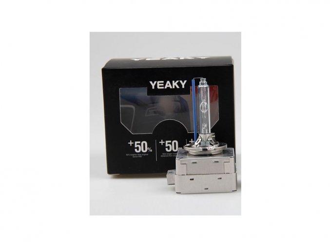 Xenonová výbojka Yeaky +50% Power, D1S, 4500K, 1ks