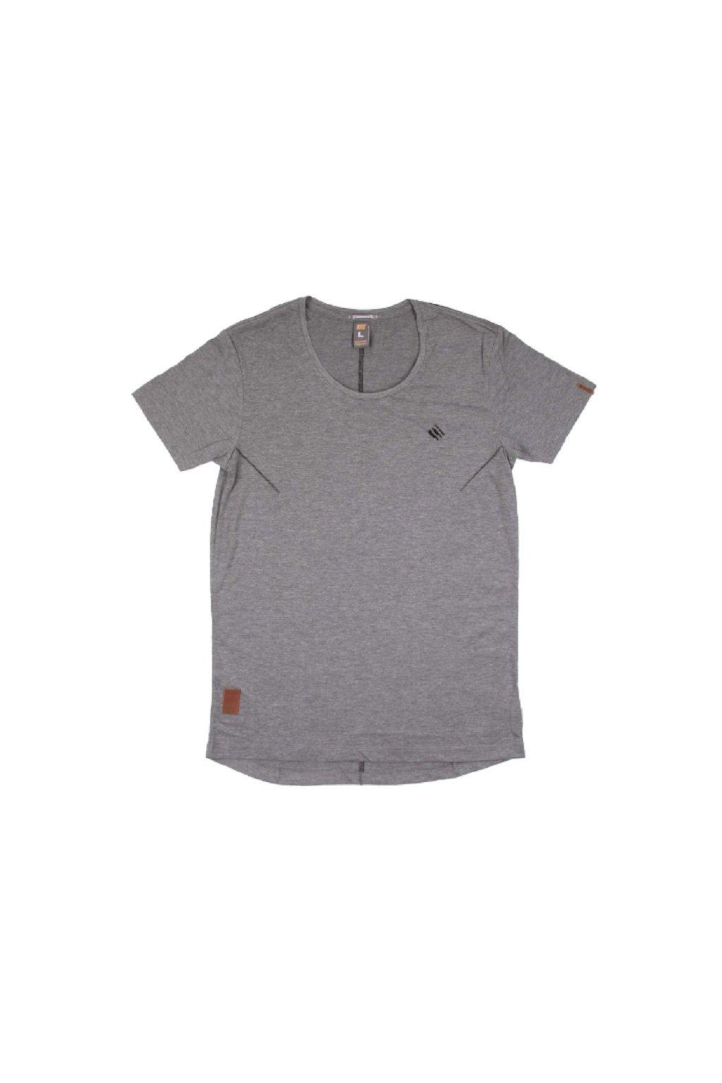 Pánské triko Goodness Industries CHARLY šedá obr1