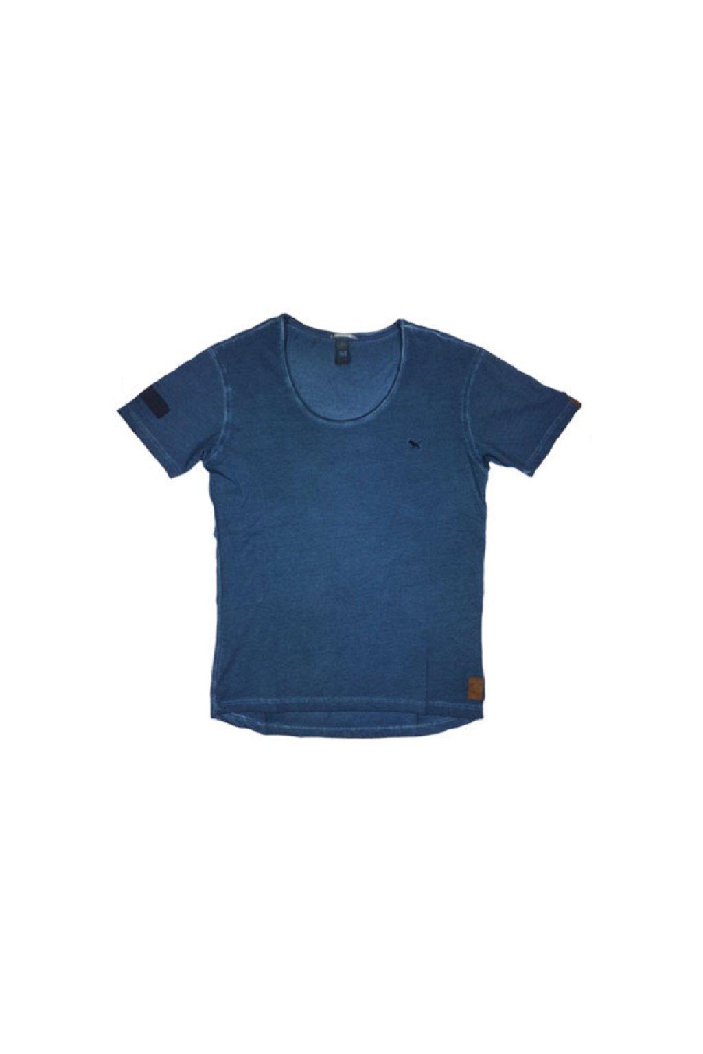Pánské triko Goodness Industries BOBBY modrá obr1