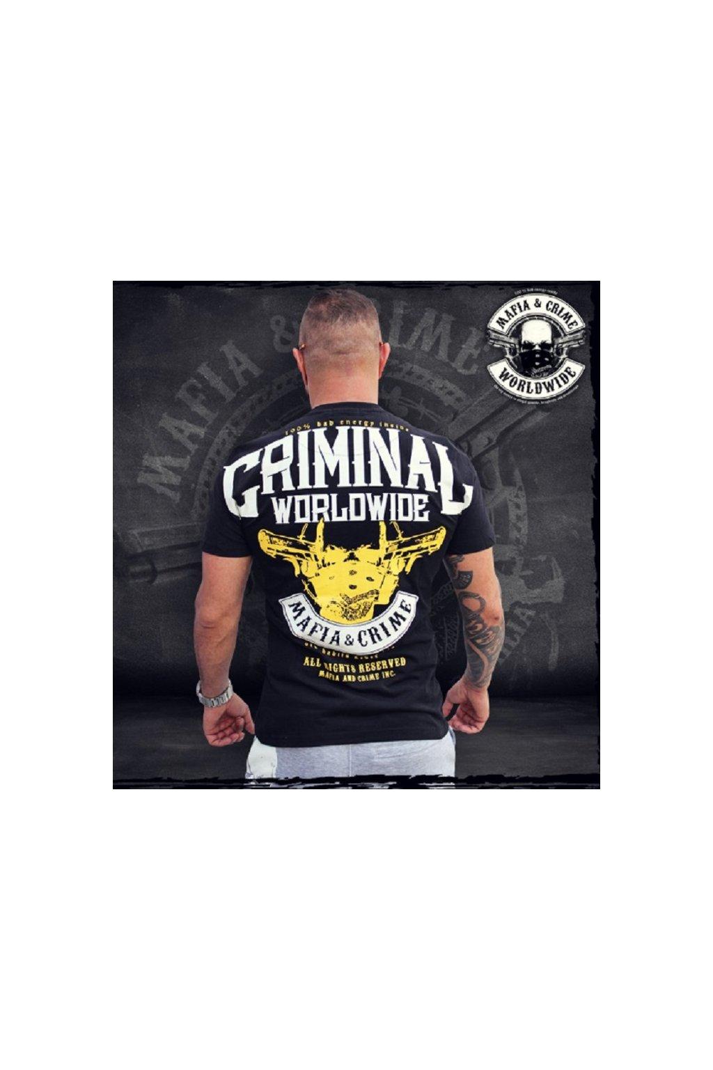 Mafia & Crime Bad Energy Black obr1