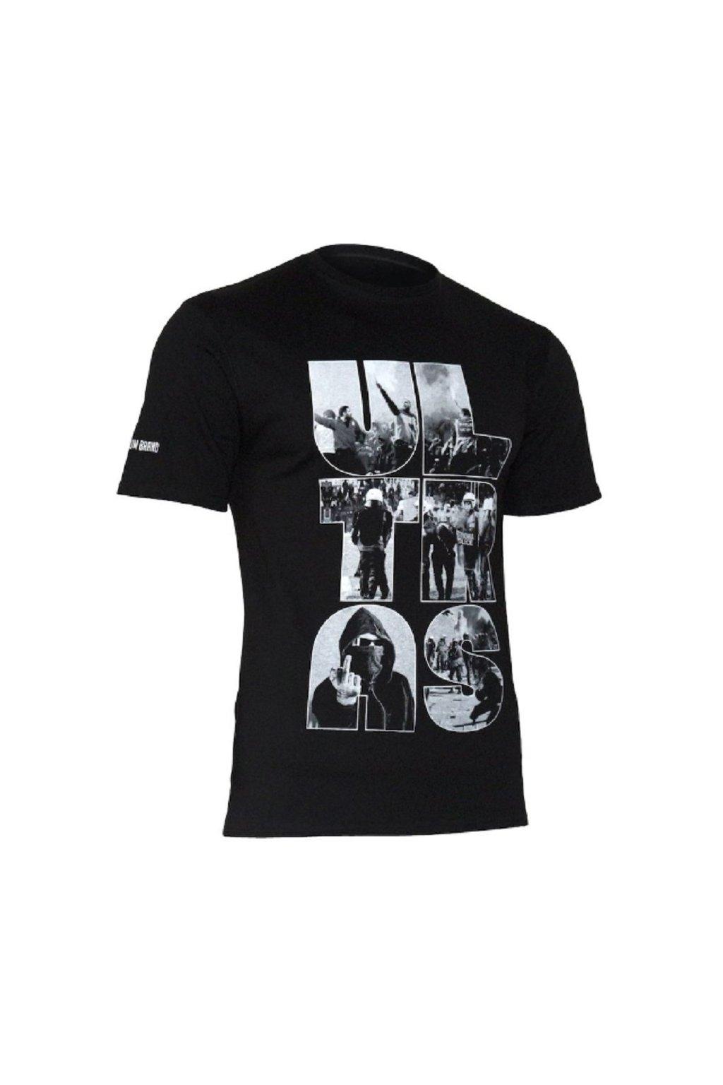 USWEAR pánské triko ULTRAS černé obr1