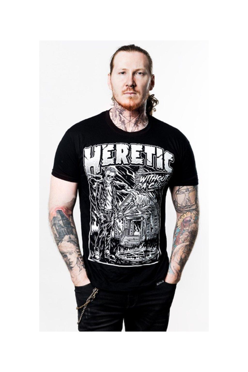 SickFace pánské triko Heretic obr1