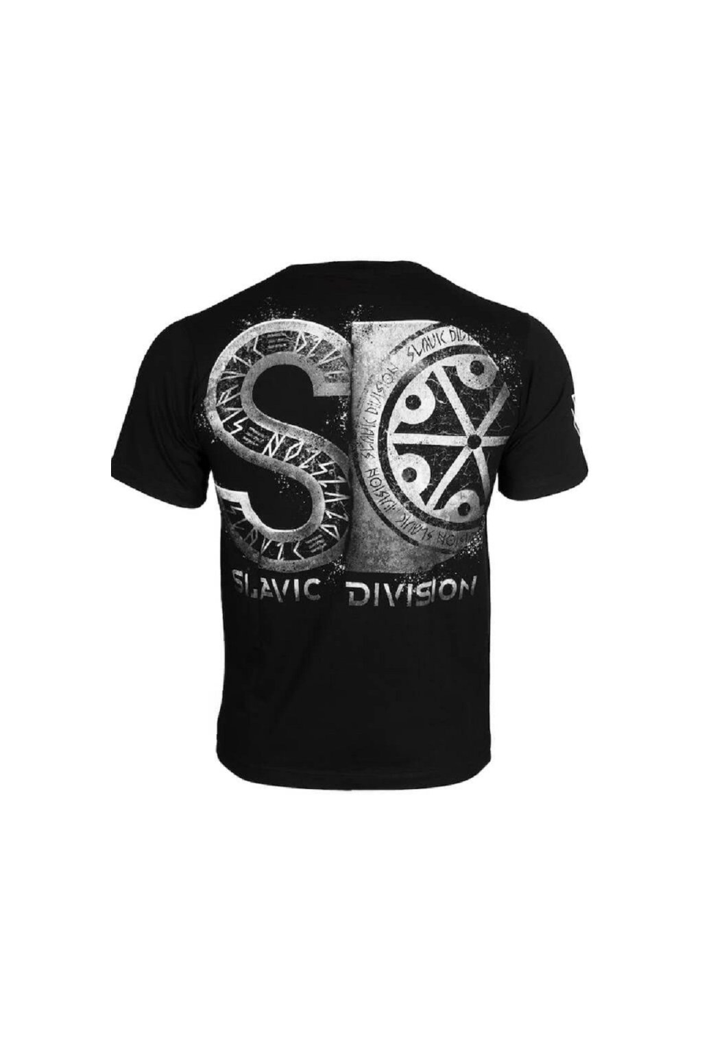 Slavic Division pánské triko SD černá obr1