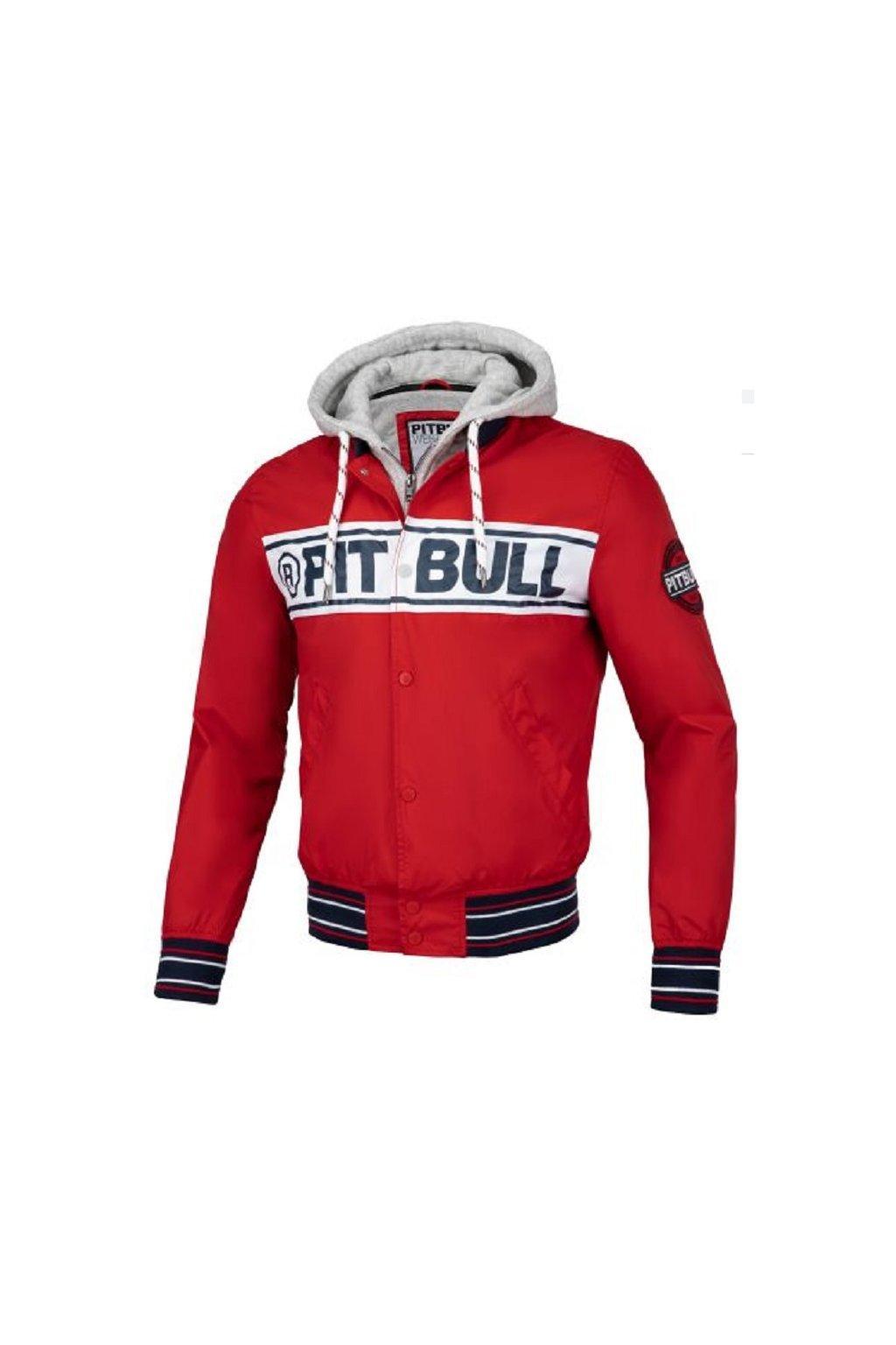 PitBull West Coast - letní bunda ANGLER červená obr1