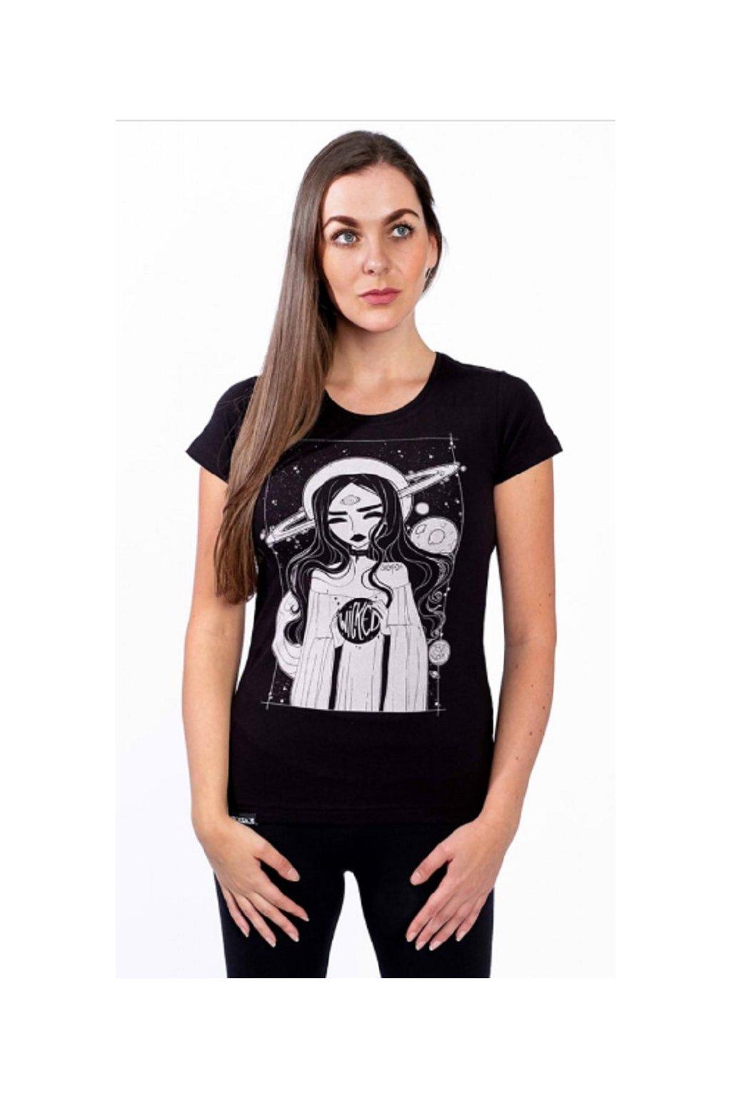 SickFace dámské triko Wicked obr1
