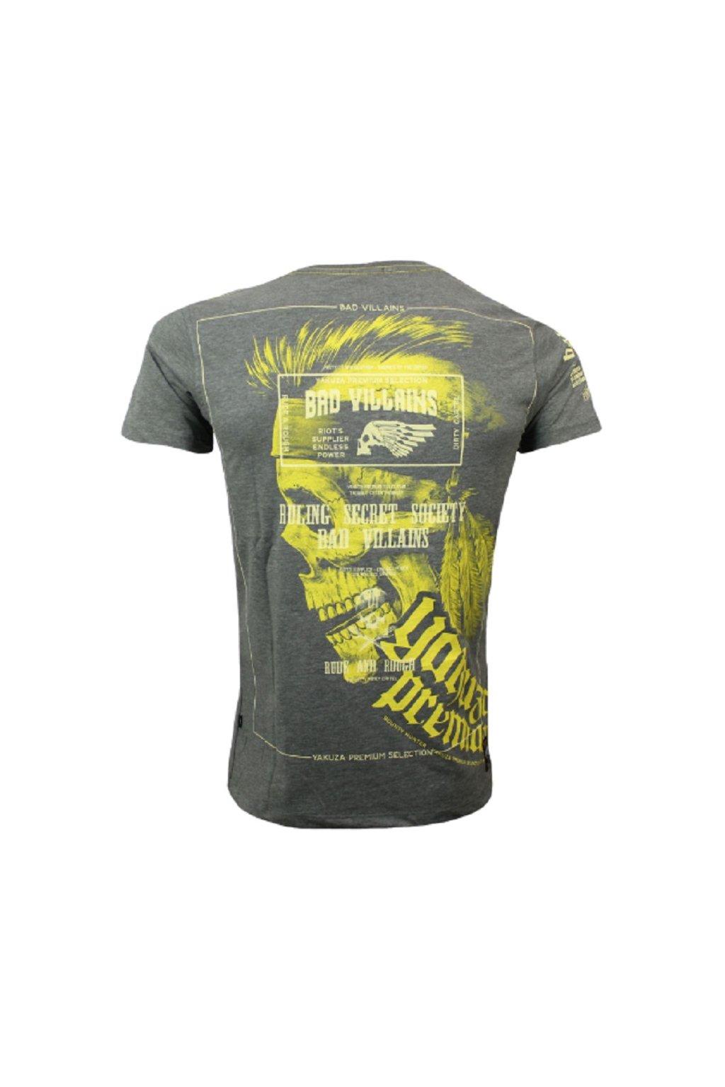 Yakuza Premium pánské triko 2809 šedá obr1