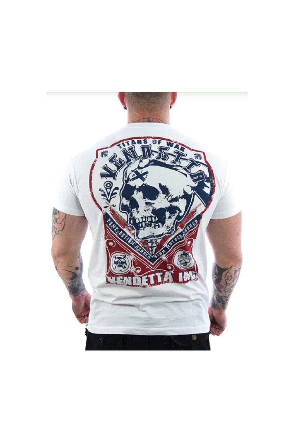 Pánské triko Vendetta Inc.Titans weiß VD-1093 obr1