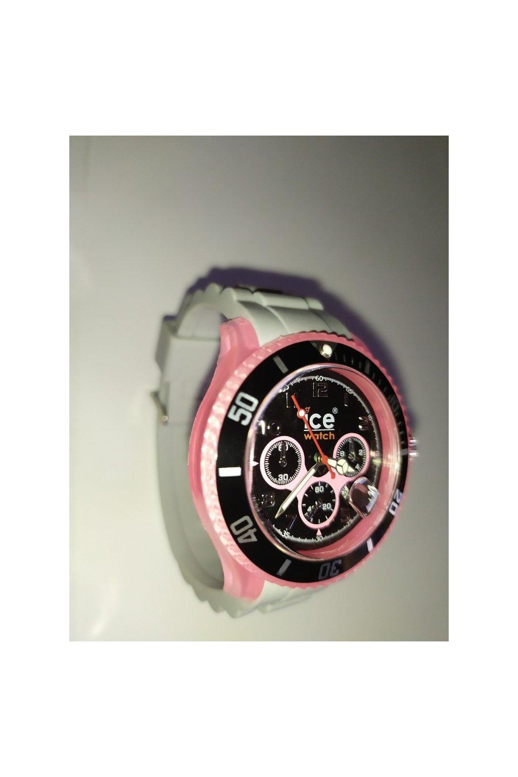 Hodinky unisex Ice Watch 2. jakost růžovo šedá obr1