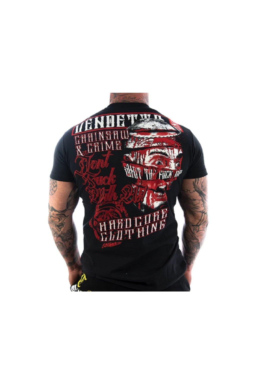 Pánské triko Vendetta Inc. Chainsaw VD-1110 Black obr1