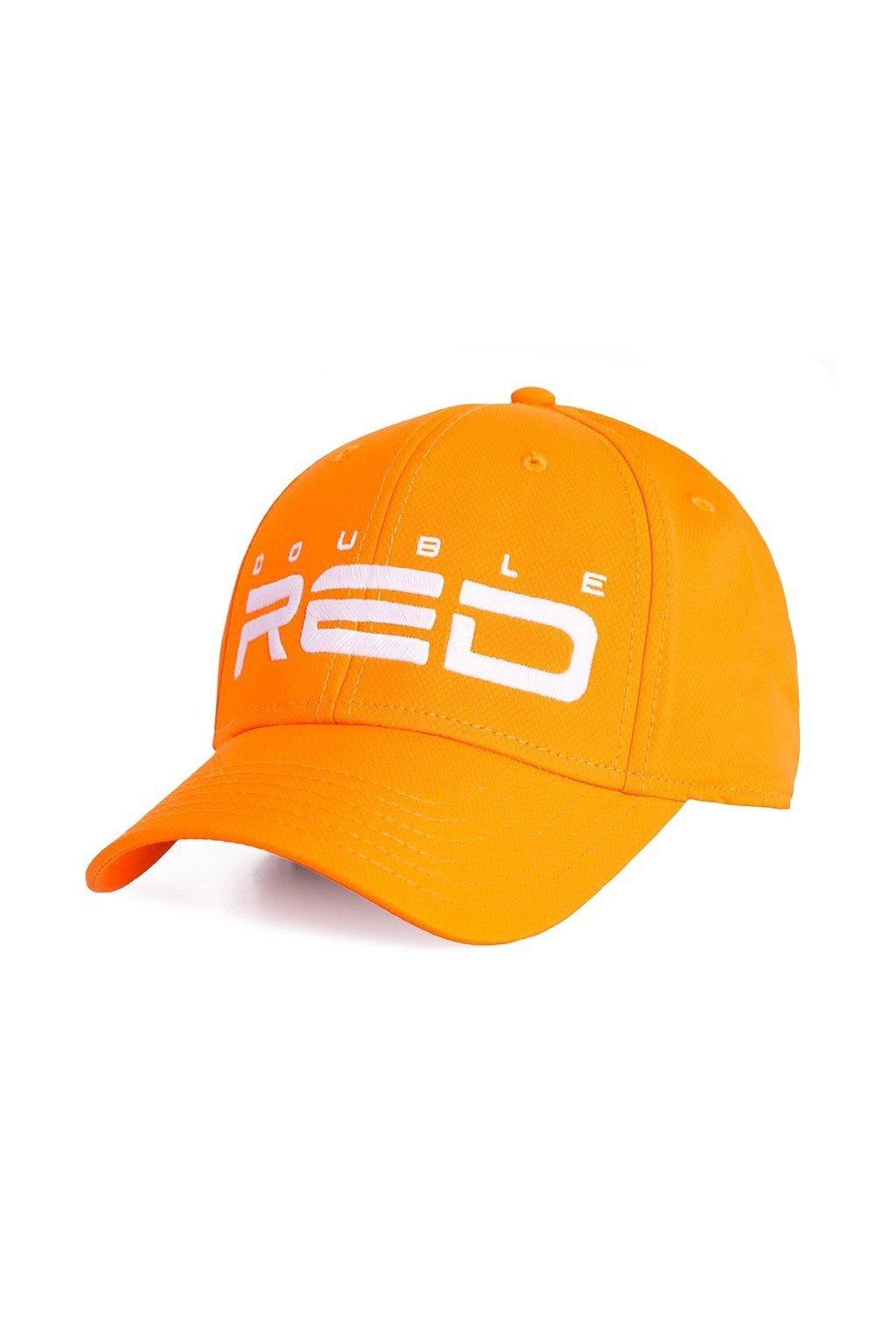 Kšiltovka DOUBLE RED SOLAR Neon Orange obr1
