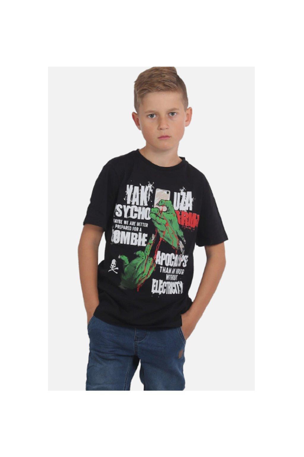 Yakuza dětské triko ZOMBIE KIDS TSB15406 black