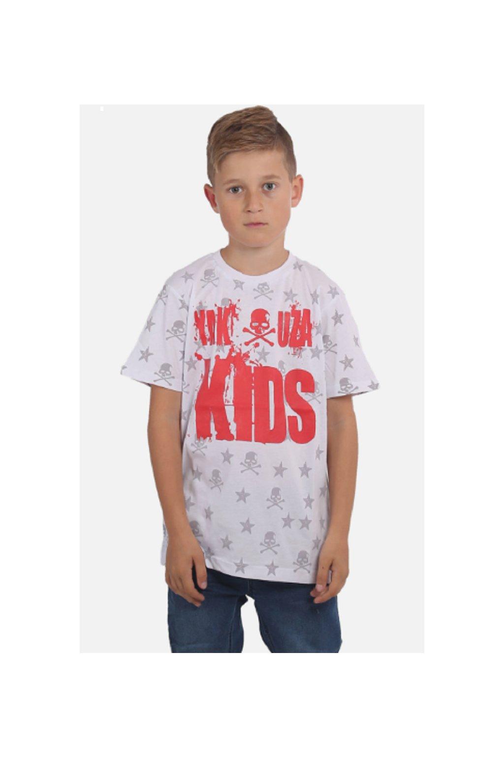 Yakuza dětské tričko SKULL N STARS TSB 15408 white obr1