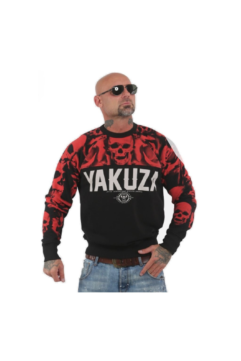 Yakuza mikina pánská Sick N Fxck PB 13052 black obr1