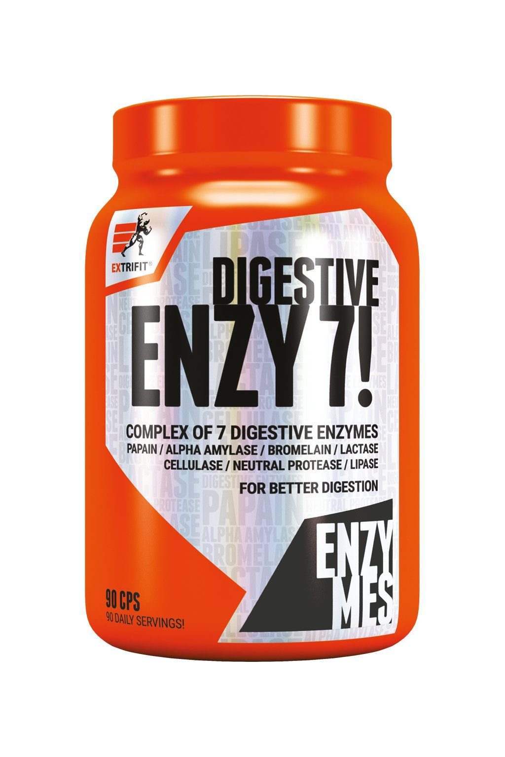 Extrifit Enzy 7! Digestive Enzymes 90 cps obr1