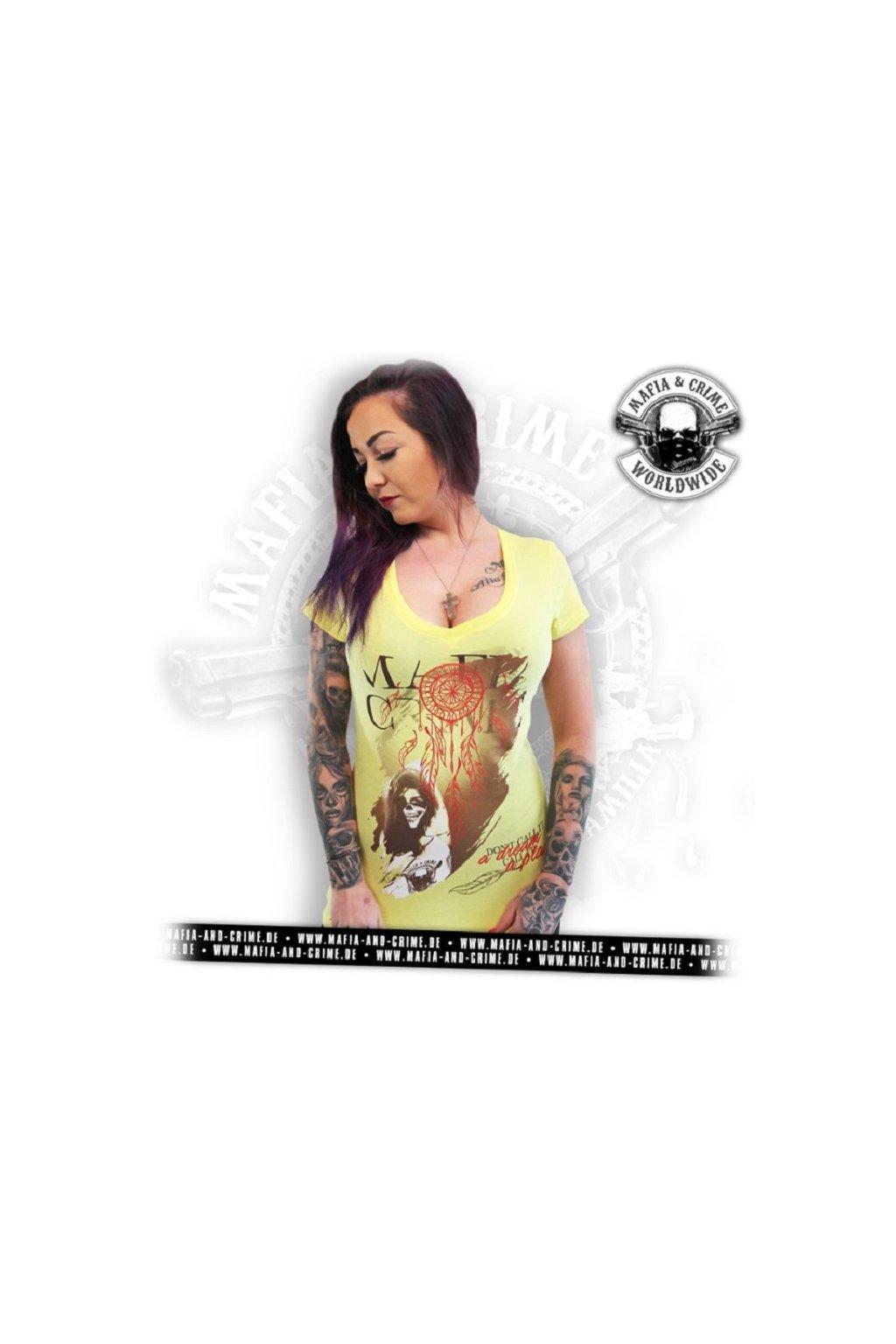 Mafia & Crime dámské triko MC Dreamcatcher obr1