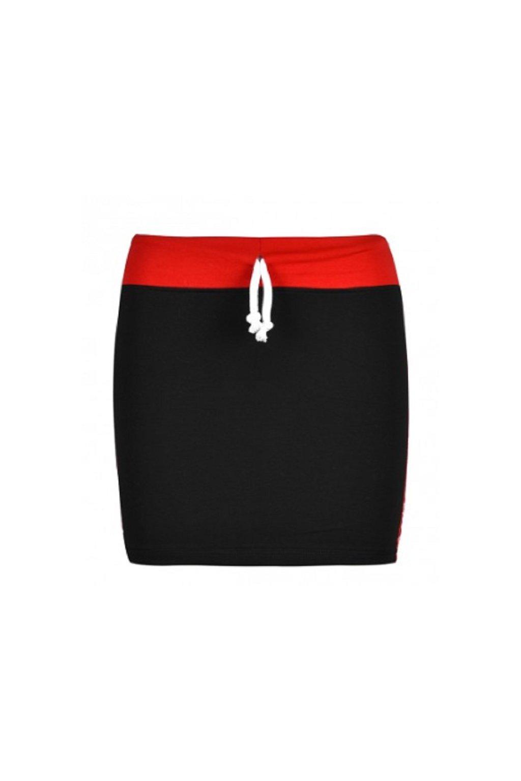 Double Red dámská sukně Eminence RedSkirt Black obr1